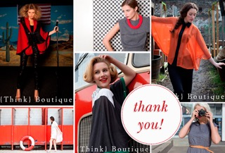 Think Boutique Thank you and Farewell